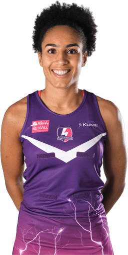 Loughborough Lightning netball player