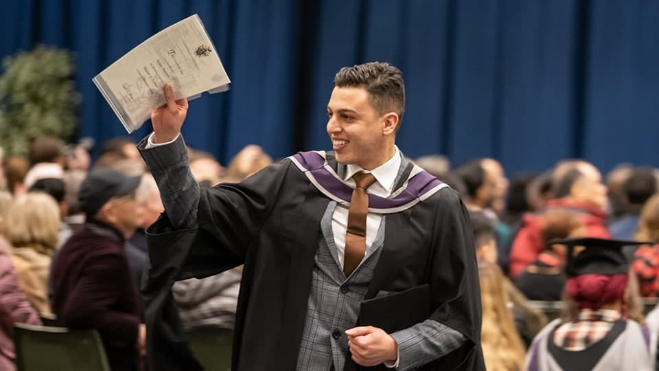 Graduation ceremony at Loughborough University
